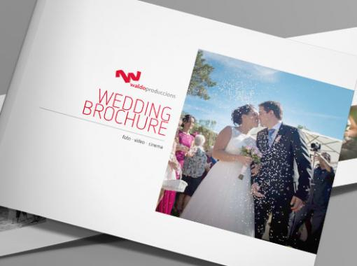 Brochure design for professional photographer