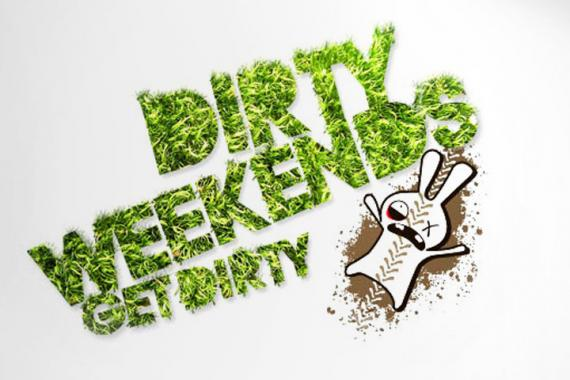 Get dirty weekends - Brand creation and media campaign