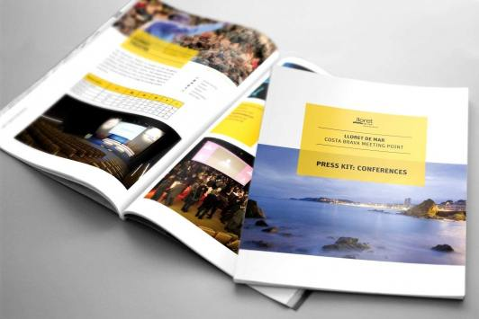 Disseny de brochure Convention Bureau