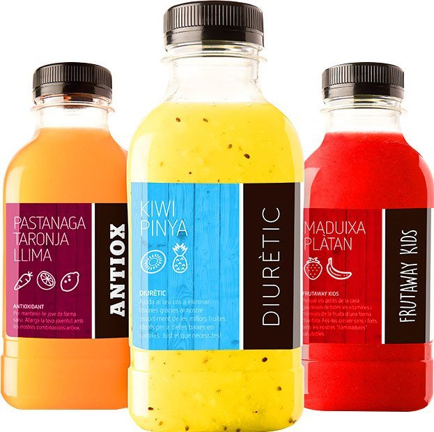 Franchise brand design for Frutaway id132