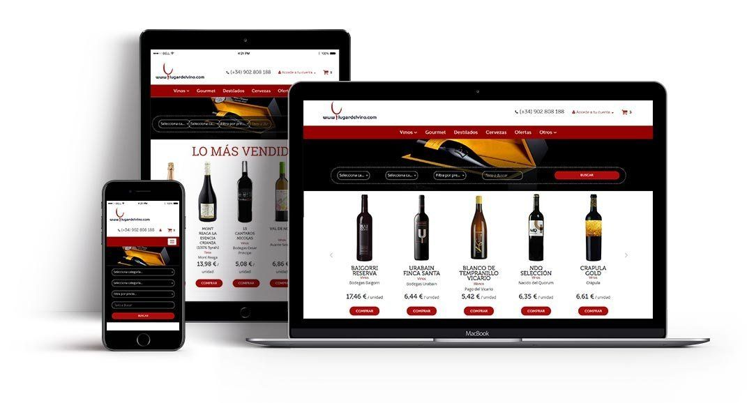 Wine shop e-commerce id300
