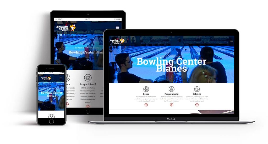 Bowling Center web design id310