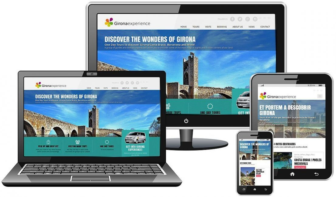 Web design and development for tourism directory id133