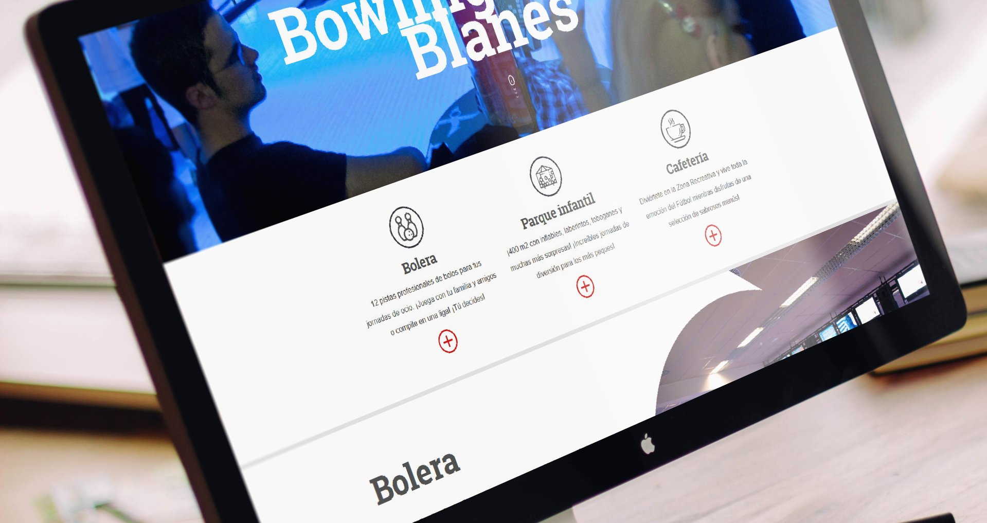 Bowling Center web design