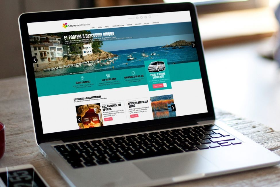 Web design and development for tourism directory