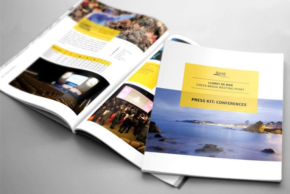 Diseño de Brochure Convention Bureau