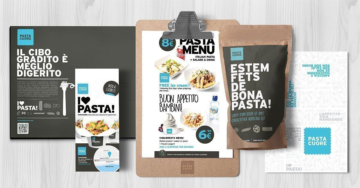 Brand design for restaurant franchise