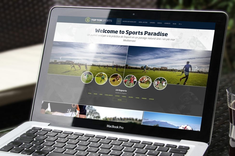 Sports resort web development