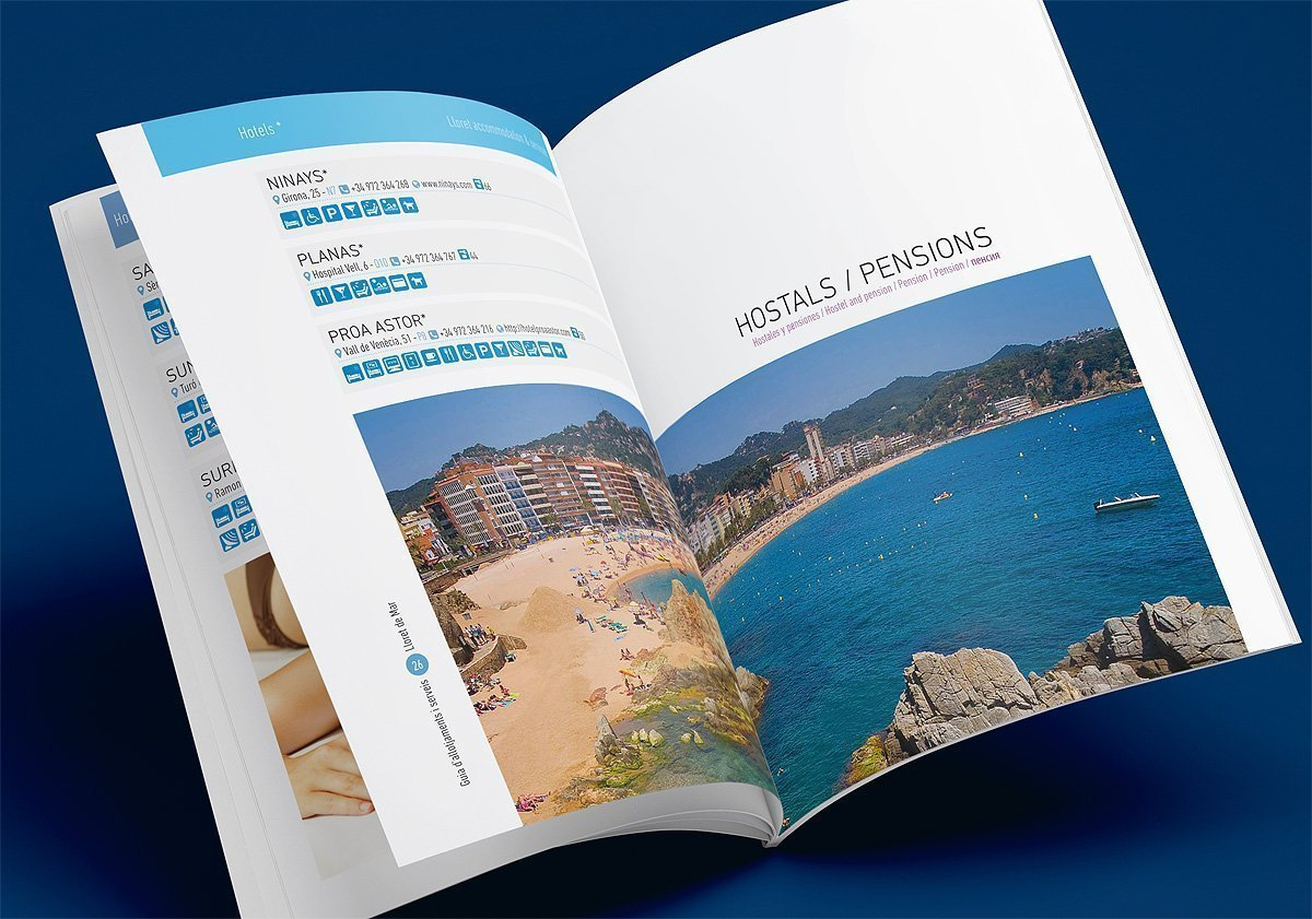 Touristic guide design
