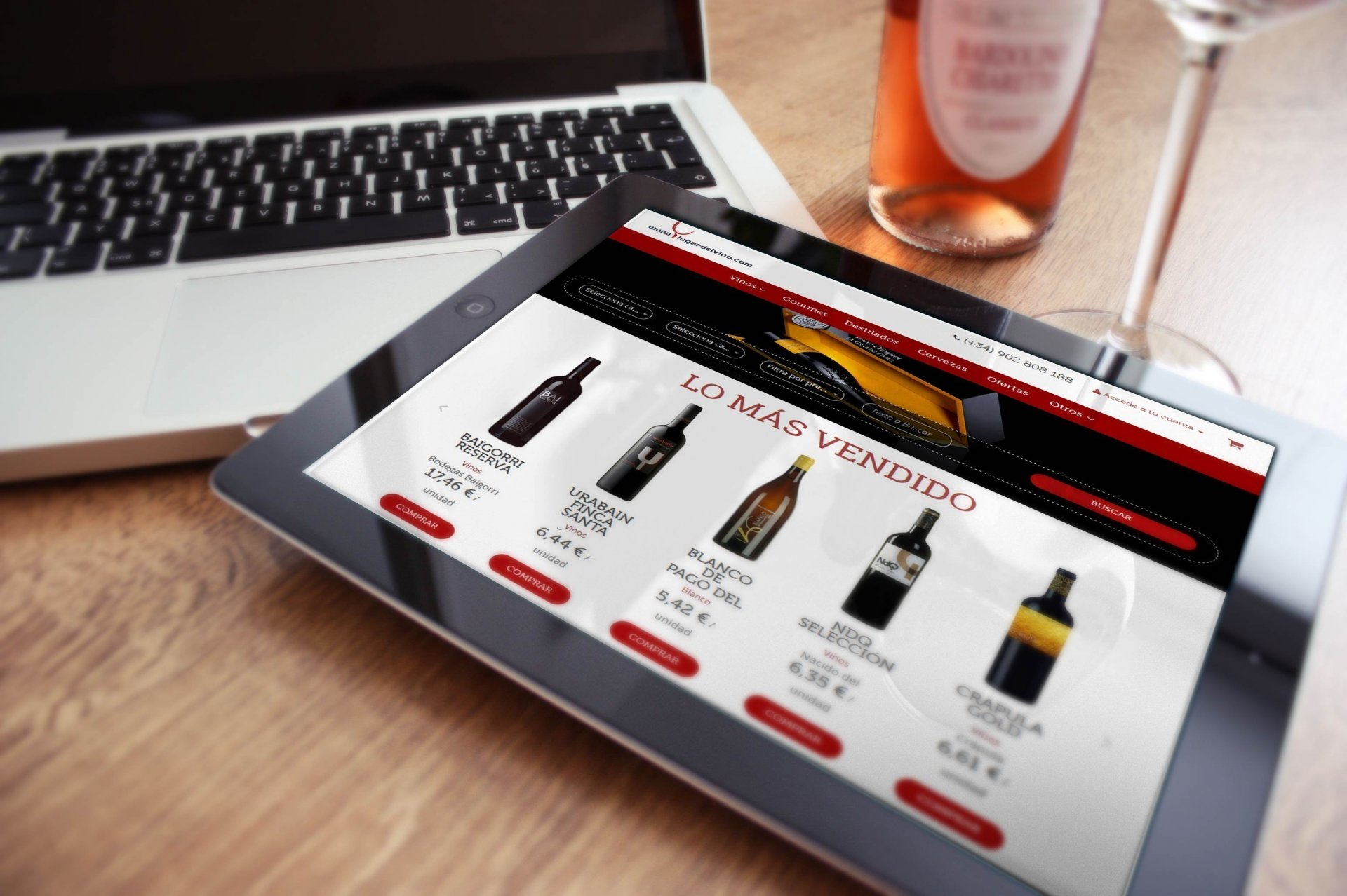 Wine shop e-commerce