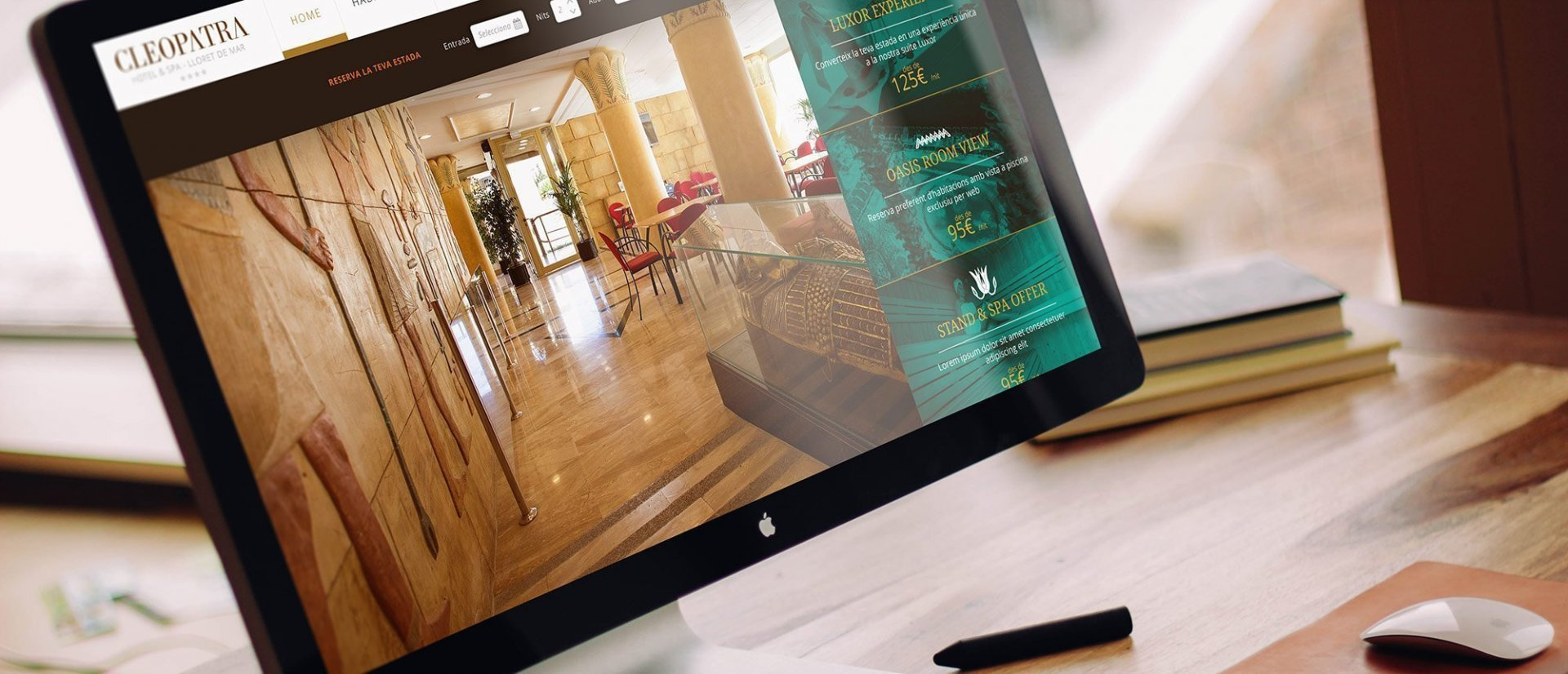 Four Star SPA hotel web development