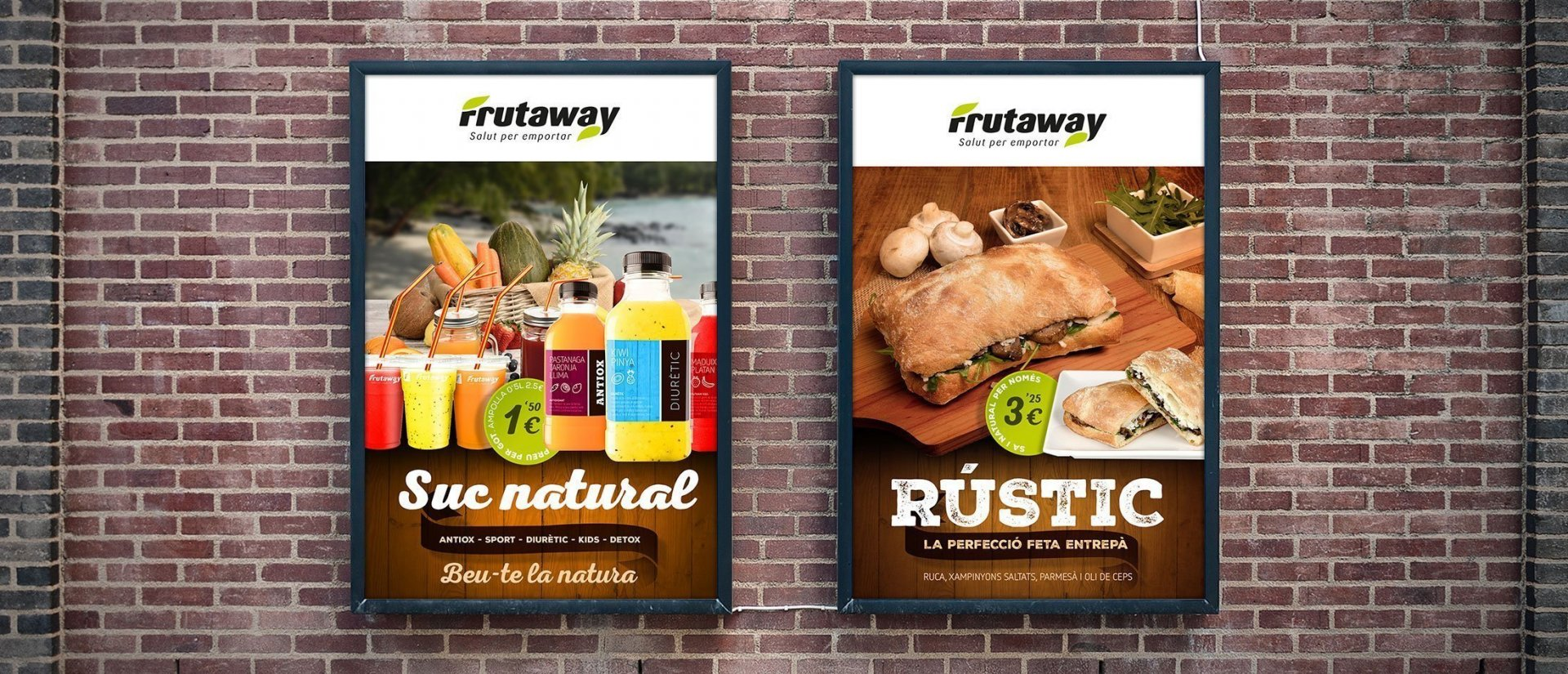 Franchise brand design for Frutaway